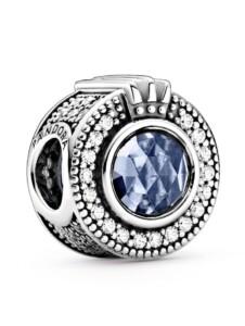 Charm – funkelnde Krone- Pandora Silberfarben
