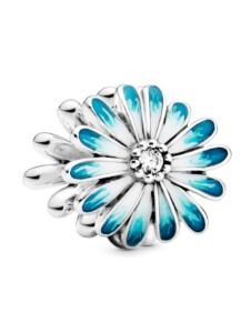 Charm-Gänseblume- Pandora Blau