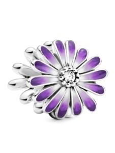 Charm -Gänseblume- Pandora Silberfarben