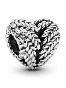 Charm -Herz- Pandora Silberfarben