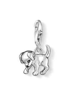 Charm Hund aus 925 Sterling Silber
