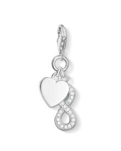 Charm Infinity aus 925 Sterling Silber mit Zirkonia