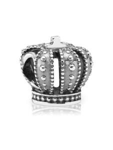 Charm -Krone- Pandora Silberfarben