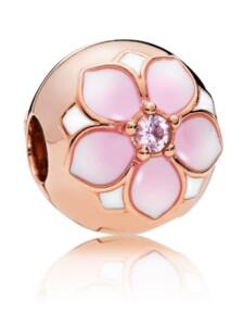 Charm -Magnolienblüte- Pandora Rosé