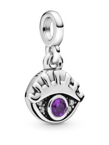 Charm -Mein Auge- Pandora ME Pandora Silberfarben