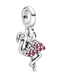 Charm -Mein Flamingo- Pandora ME Pandora Silberfarben