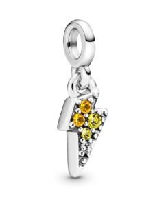 Charm-Mein kraftvolles Licht- Pandora Silberfarben