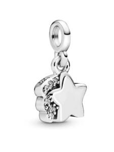 Charm-Meine Sternschnuppe- Pandora ME Pandora Silberfarben