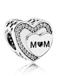Charm -Mom- Pandora Weiß
