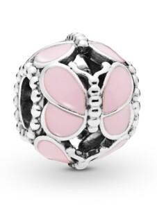 Charm -Pinke Schmetterling- Pandora Rosé