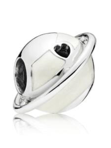 Charm -Planet der Liebe- Pandora Silberfarben