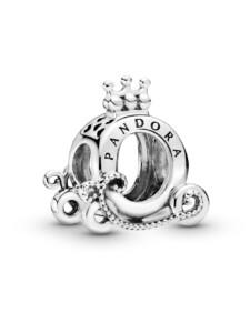 Charm -Polierte Krone- Pandora Silberfarben