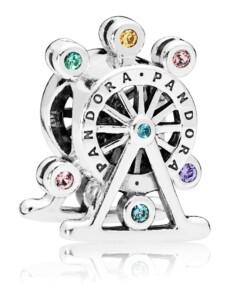 Charm -Riesenrad- Pandora Silberfarben