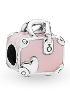 Charm -Rosa Reisetasche- Pandora Pink