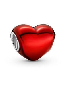 Charm -Rotes Herz- Pandora Rot