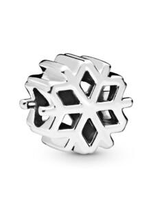 Charm -Schneeflocke- Pandora Silberfarben