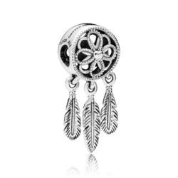 Charm Spiritual Dreamcatcher 925er Silber