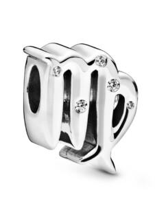 Charm -Sternzeichen Jungfrau- Pandora Silberfarben
