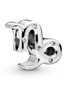 Charm -Sternzeichen Steinbock- Pandora Silberfarben