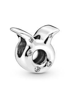 Charm -Sternzeichen Stier- Pandora Silberfarben