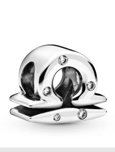 Charm -Sternzeichen Waage- Pandora Silberfarben