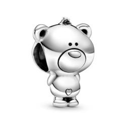 Charm Teddybär aus 925er Sterlingsilber