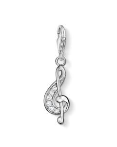 Charm Violinschlüssel 925 Sterling Silber