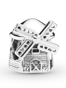 Charm -Windmühle- Pandora Silberfarben