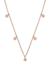 CHARMS Collier Roségold