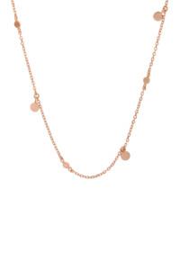 Choker Halskette rosé vergoldet