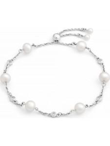 CHRIST Damen-Armband 925er Silber 6 Süßwasser CHRIST C-Collection weiß