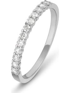 CHRIST Damen-Damenring 12 Diamant CHRIST C-Collection weißgold