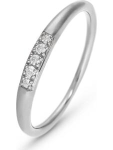 CHRIST Damen-Damenring 5 Diamant CHRIST C-Collection weißgold