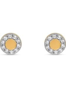 CHRIST Damen-Ohrstecker 20 Diamant CHRIST C-Collection gelbgold