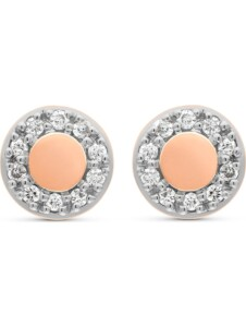 CHRIST Damen-Ohrstecker 20 Diamant CHRIST C-Collection roségold