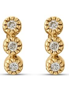 CHRIST Damen-Ohrstecker 6 Diamant CHRIST C-Collection gelbgold
