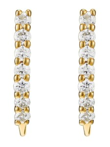 CHRIST Diamonds Damen-Ohrstecker Weißgold/gold 14 Diamant CHRIST Diamonds gold