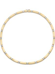 CHRIST Gold Damen-Kette 585er Gelbgold, 585er Weißgold CHRIST GOLD gold