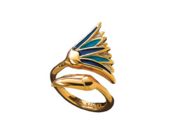 Christiane Wendt: Lotusblüten-Ring, Ring