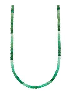 Chrysopras-Kette Diemer Farbstein Grün