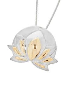 Chrysopras Schmuck Edelstein Anhänger 925 Silber 1001 Diamonds bunt