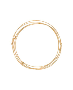 CINQ|Armreif-Set Gold