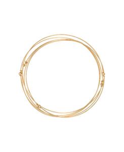 CINQ|Armreif-Set Gold