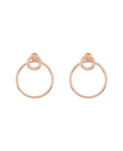 CIRCLE|Ear Jackets Rosé