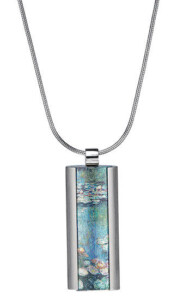 Claude Monet: Collier 'Seerosen', Schmuck