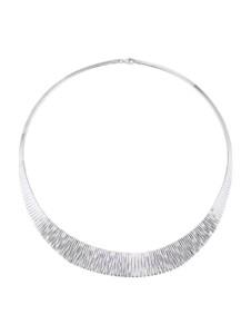 Cleopatra-Collier Diemer Trend Silberfarben