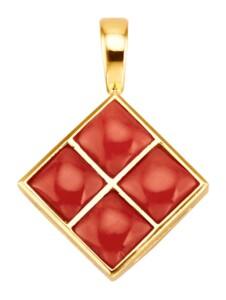 Clip-Anhänger Diemer Farbstein Rot