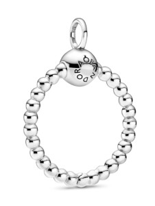 Clip-Anhänger Pandora Silberfarben