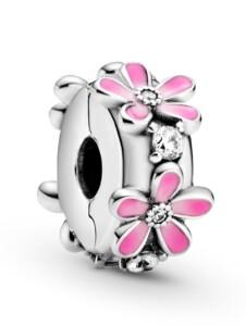 Clip-Charm-Gänseblümchen- Pandora Rosé