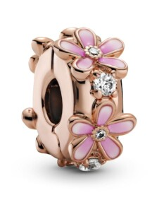 Clip-Charm -Gänseblume- Pandora Rosé